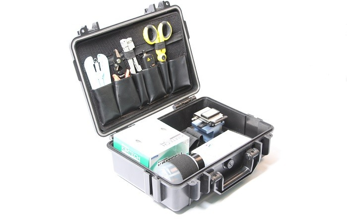 TK800 Fiber Optic 3M Fibrlock Splicing Installation Network Tool Kit