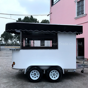 China Manufacturer Mobile Coffee Trailer For Sale