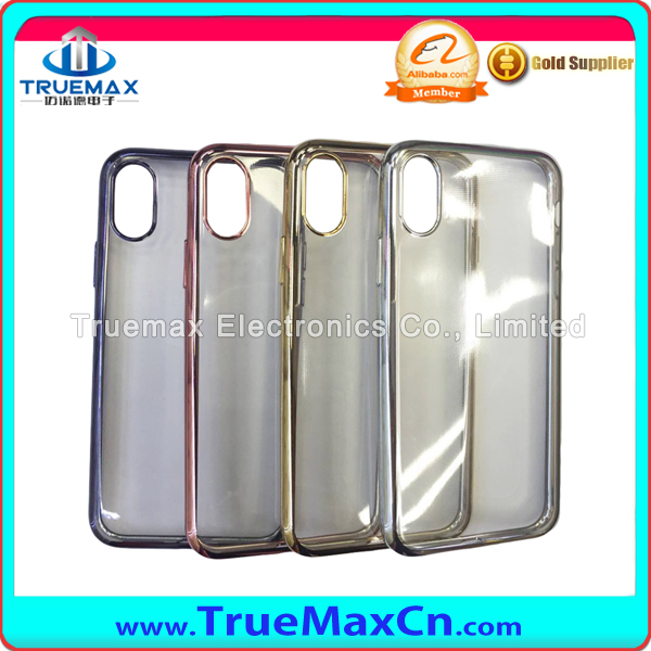 Wholesale TPU Case for iPhone 8 electroplating Tpu Case Mobile Phone Accessories