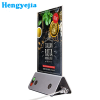 2017 innovative product latest acrylic table stand menu holder display,restaurant menu holder factory