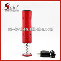 Portable Electric Red Wine Ball Pen With Bottle Opener