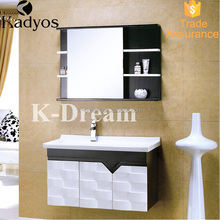 High quality floor standing mdf kitchen bathroom cabinet KD-BC003W