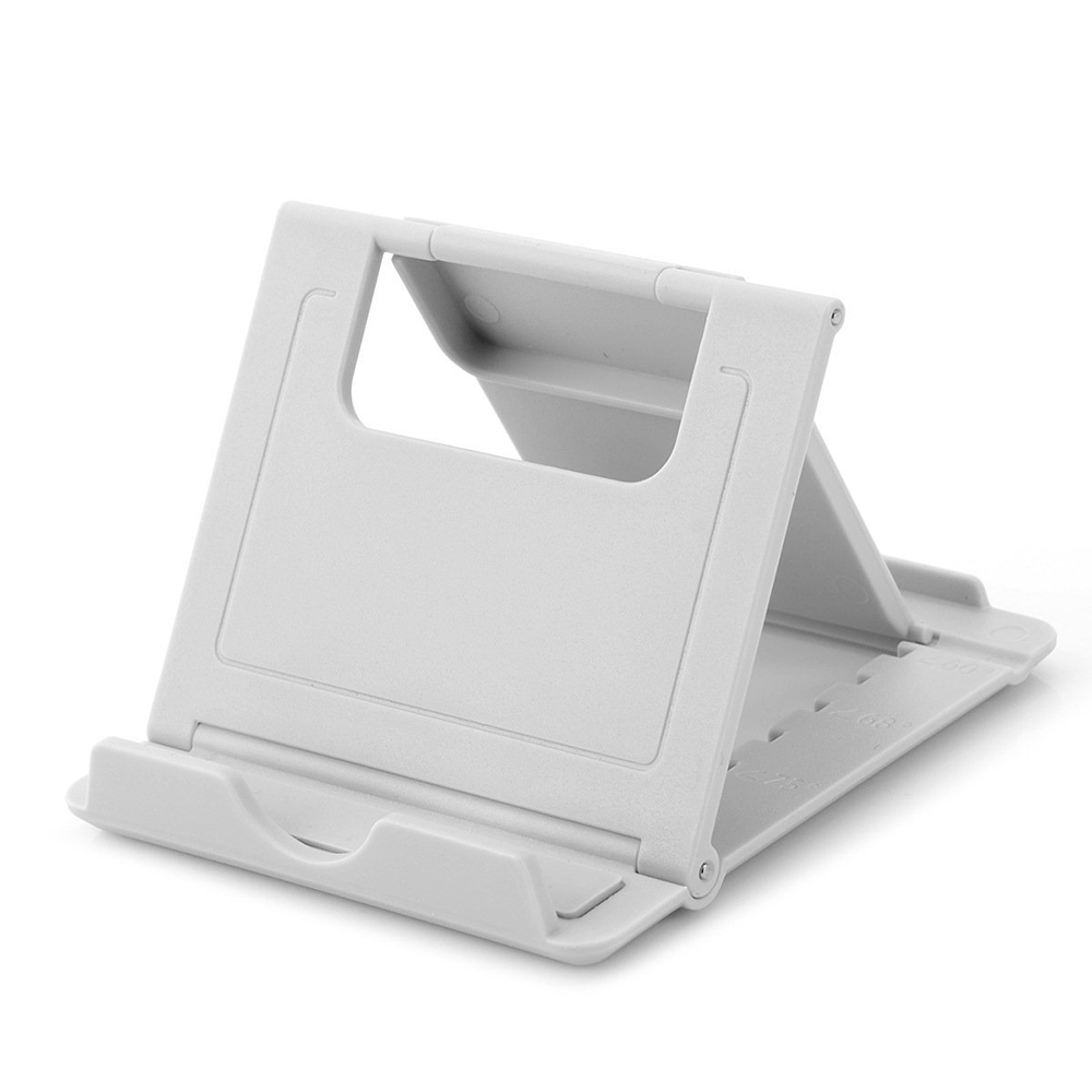 Stationary Station Portable Tablet Fold Stand White For