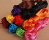 2mm colorful braided nylon cord twine for handmade craft