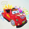 2014 electric toy car track plastic racing car