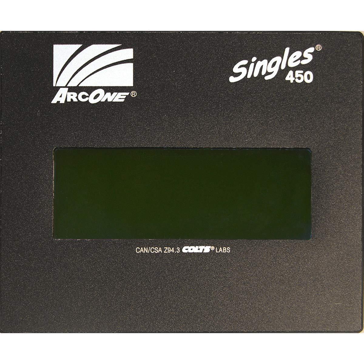 """Pair of Sellstrom 4-1//2/"""" X 5-1//4/"""" Shade 8 Welding Lens"""
