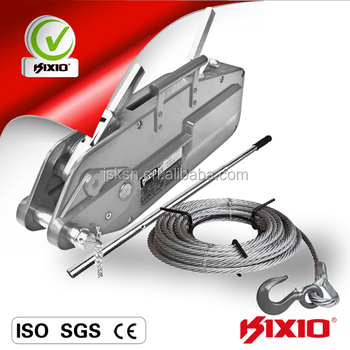 KIXIO Cable wire rope puller with steel wire rope, View Cable wire ...
