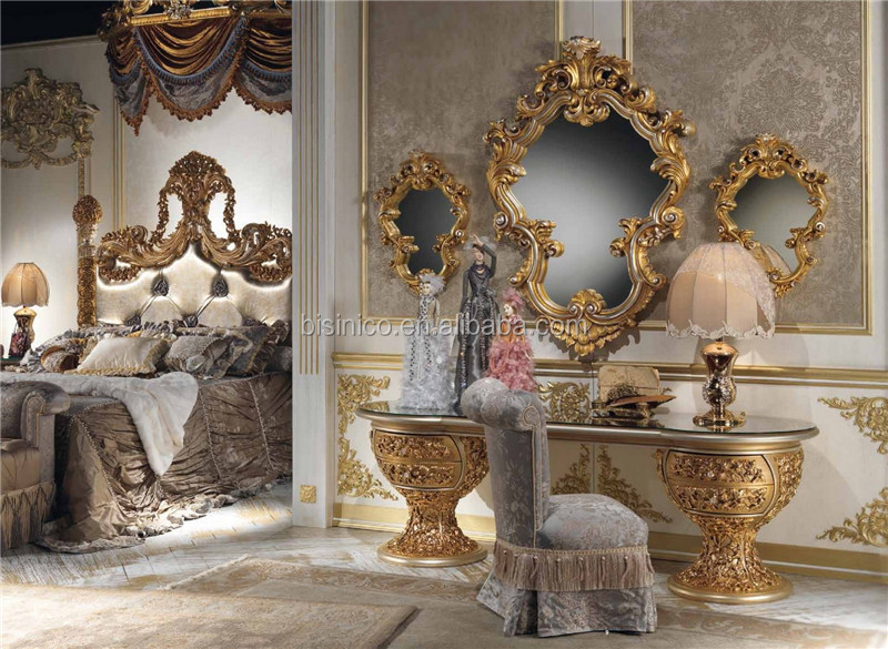 Luxury Bedroom Furniture Brands luxury brand new bedroom furniture/golden design glass top