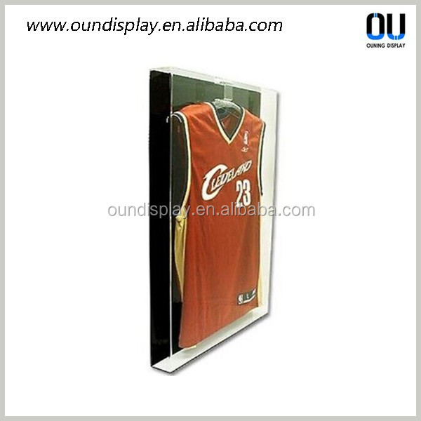 Locking Acrylic Sports T-shirt Cycling Jersey Frames Display Cases ...