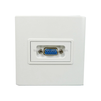 Free Solder 3 + 4 Wall Plug Socket Wiring Vga Panel Wall Plate 86 * on