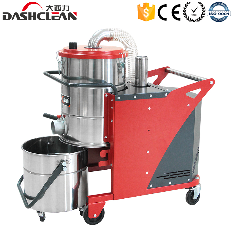 Three phase heavy duty wet dry industrial vacuum cleaners for sale