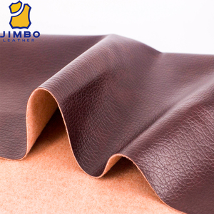 60% PU 40% rayon synthetic leather fabric sofa leather touch fabric