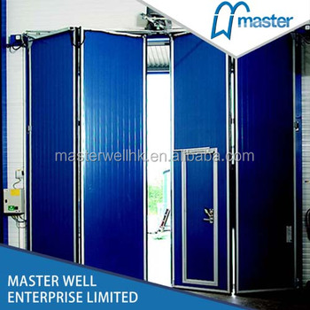 Big Automatic Industrial Folding Doors For Helicopter Hangar - Buy ...