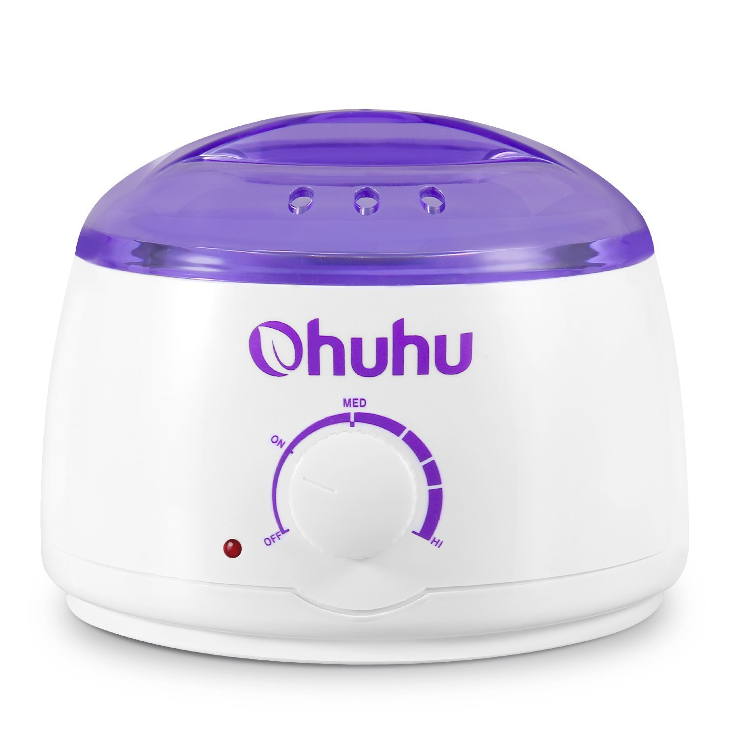 Hot Wax Warmer, Ohuhu Electric Wax Warmer Melting Pot for Facial Skin Body Hand Foot Leg Hair Removal, Waxing Heater Pot Machine for Other Therapeutic Waxes, Paraffin