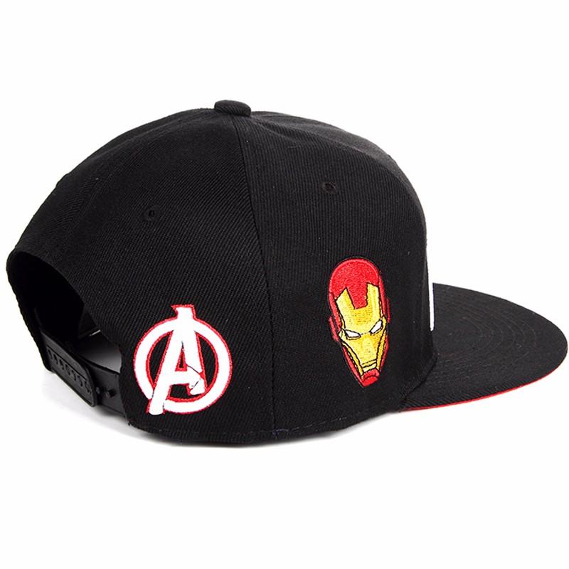 Hot Sale Captain America Snapback Hat Letter Snap Back Baseball Cap Hip Hop  Hat Snapback Hat a8a985c54d9