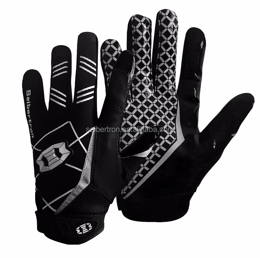 Seibertron Pro 3.0 Elite Ultra-Stick Sports Receiver Glove Football Gloves Youth and Adult,youth football receiver sport gloves