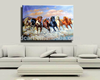 High quality stock handpainted horses oil painting for sale