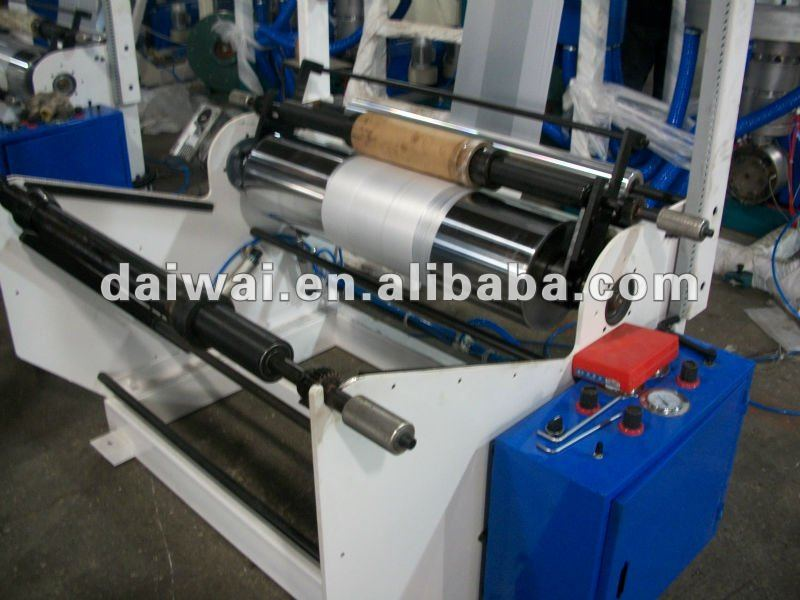 Hdpe sheet extrusion line with Double Winder and Rotary Die Head
