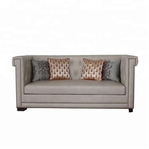 Button Leather Sofa, Button Leather Sofa Suppliers And Manufacturers At  Alibaba.com