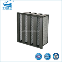 G3 G4 Extended Surface Pleated Panel Filter Activated Carbon Media ...