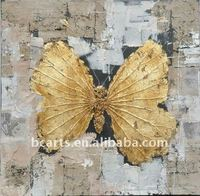 modern butterfly painting