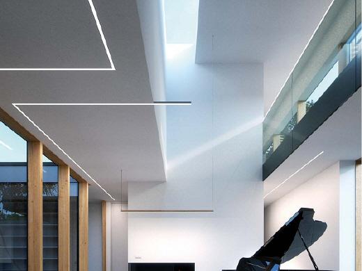 leidde dubbele lijn aluminium profiel voor plafond led wall aluminium profiel aluminium extrusie. Black Bedroom Furniture Sets. Home Design Ideas