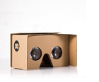 New Product Google Cardboard Kit V2 Big Lens 3D Virtual Reality Cardboard Glasses