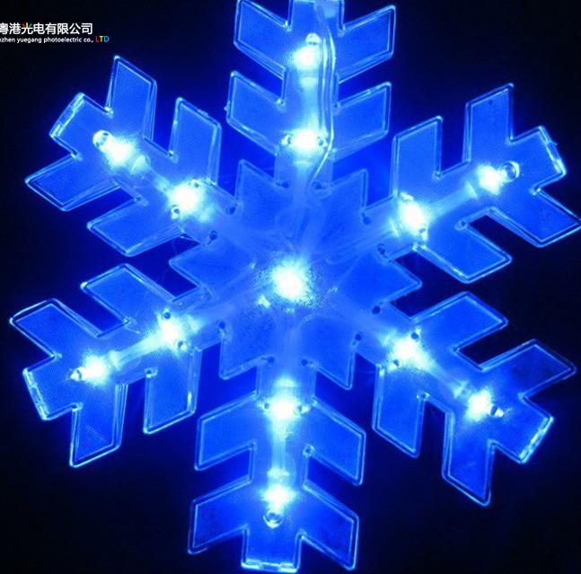 European Christmas Lights Christmas Tree Decorative Led Snowflake ...