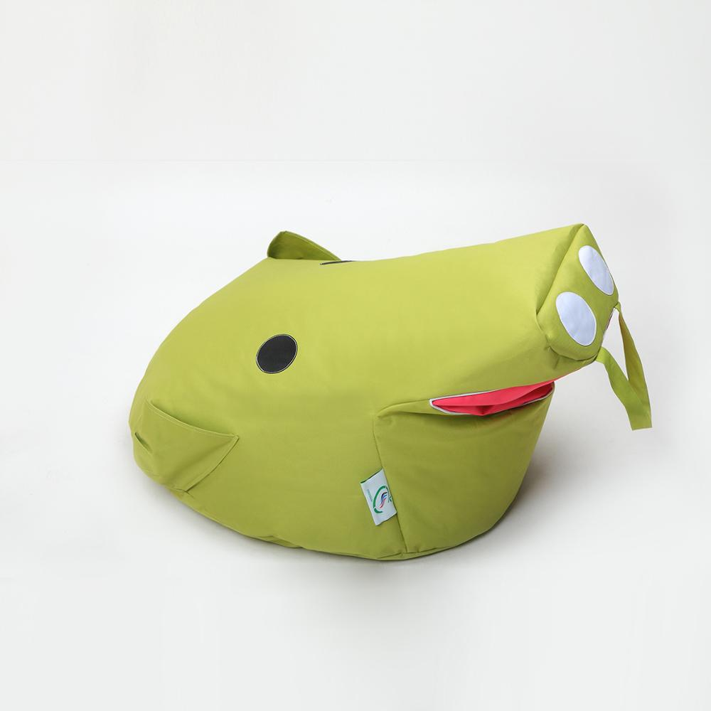 Leisure Small bean bag children cartoon fabric pig lazy sofa Creative single lovely tatami chair bed