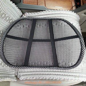 For Summer Using Cool Feeling Car Back Support Auto Mesh Seat Back Support Cushion