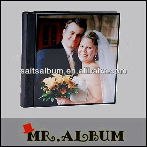 2016 low price wedding photo album with acrylic cover cheap wedding photo book