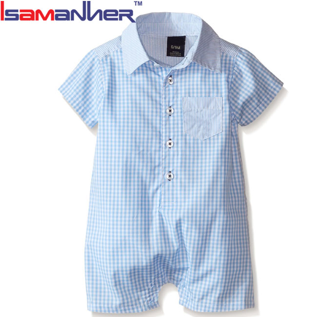 Handsome baby boy romper fashion baby boy dress clothes