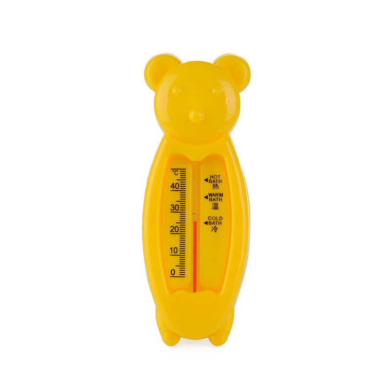 Portable Plastic Waterproof Baby Bath Animal Shaped Thermometer