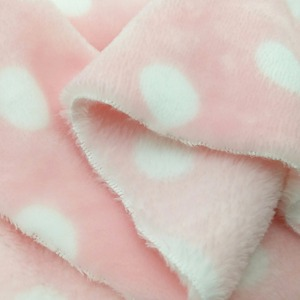 soft thermal baby printed waterproof clothes fabric