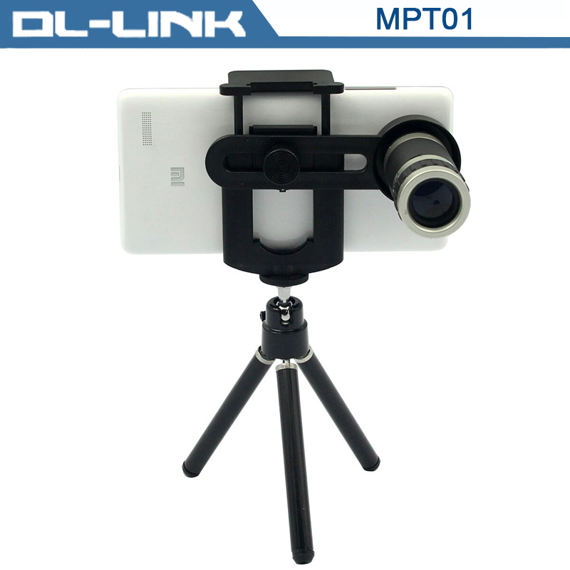 MPT01 Universal 8X Optical Zoom Telescope with Tripod Holder for Mobile Phone