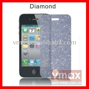 Cell phone diamond screen protector for Samsung omnia 7 i8700