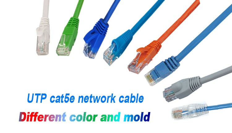 1M Hot Sale Slim Flat CAT 6 UTP Ethernet Network Cable fiber optic patch cord UTP cat6 network cable