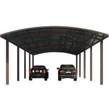 Fabriek direct pc dome frame vrijstaande oprit parkeerplaats luifel/grote auto <span class=keywords><strong>onderdak</strong></span>