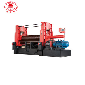 Pacific W11S 30*2500 Iron Sheet Rolling Machine Steel Metal Rolling Machine 3 Roller Metal Sheet Bender