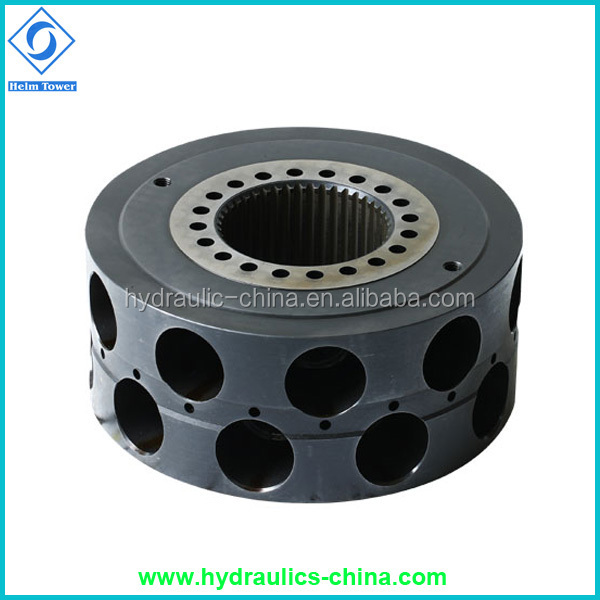 Poclain hydraulic motor piston block for ms02 mse02 ms05 for Rotor stator hydraulic motor
