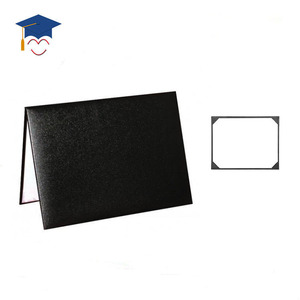 Wholesale Graduation Certificate leather paper holder diploma cover