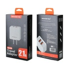 EU US Plug Power Adapter USB Charger With Timer