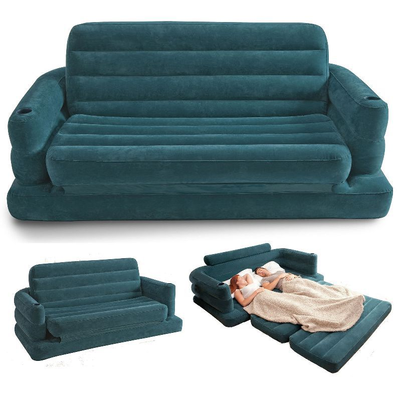 Inflatable Sleeper Sofa Bed: Free Shipping Inflatable Sofa Bed Couch Intex Furniture