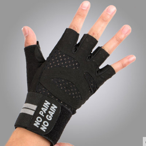 Promotional Ventilated Weight Lifting Exercise Gym Gloves For Men