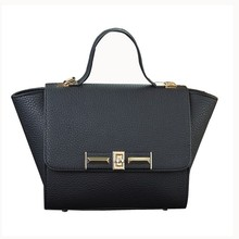 Custom High quality trapeze bag lady leather