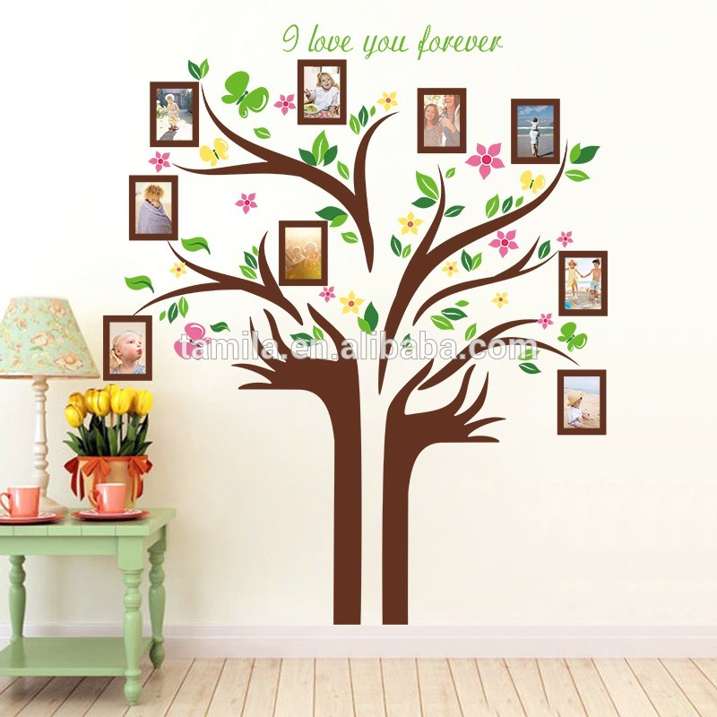 New Design Large Family Tree Vinyl Wall Decal Peel And Stick Vinyl - How to make vinyl wall decals stick