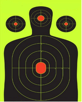 shooting target,splatter target Instantly See Your Shots Burst Bright Florescent Yellow Up