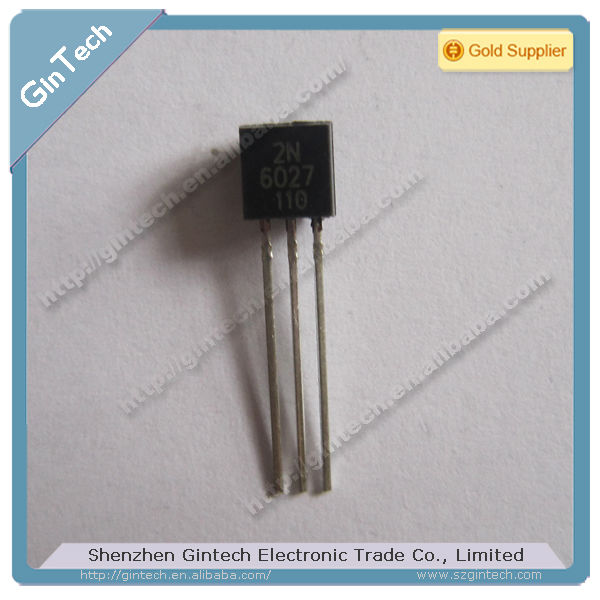 2n6027 programmable unijunction transistor to92