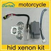 motorcycle xenon h6 mini all in one xenon hid kit