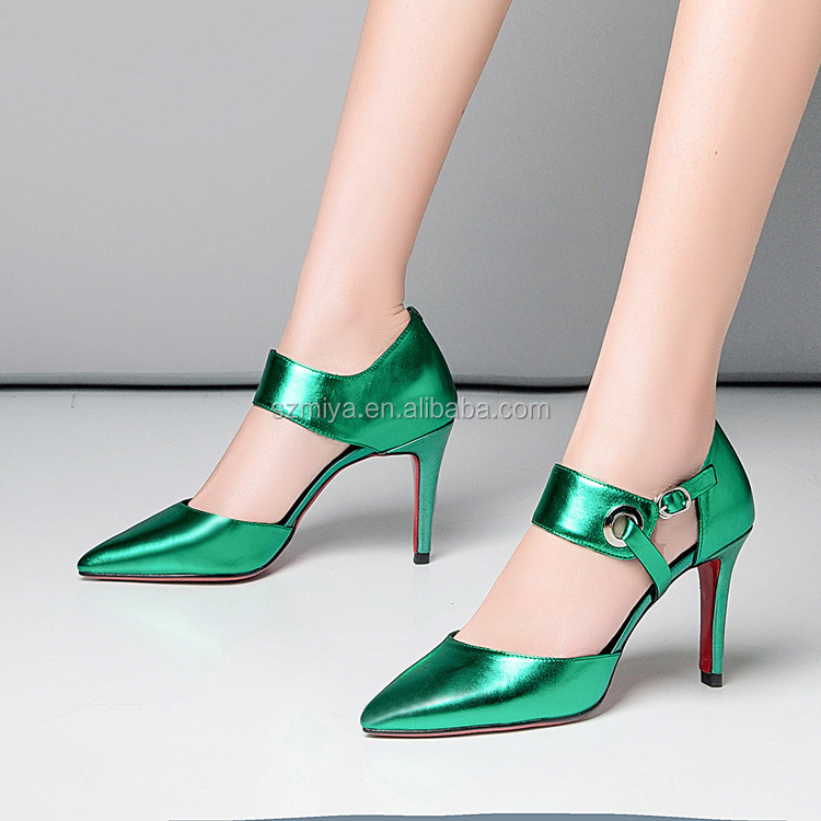2018 Sexy Sandals Pointed ladies Wear Party Heel Shoes Heel Ladies Shoes High Fashion High rwXAWqU1Or